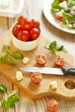 Products for salad preparation Stock Photos