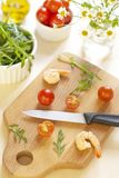 Products for salad preparation Stock Photography