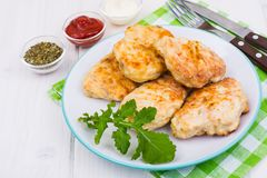 Products from turkey meat Stock Photography