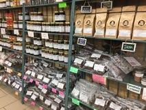 Produisez en vente sur un marché TX de petit agriculteur photo stock