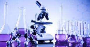 Produit chimique, la Science, équipement de laboratoire photos stock