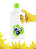 Produit écologique de nettoyage Photo libre de droits