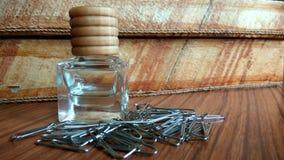 produit de beauté de bouteille photo stock