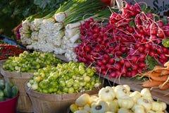 Produit du marché d'agriculteurs photographie stock libre de droits