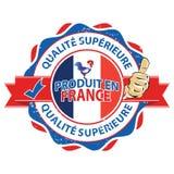 Produit en France, Qualite Superieure - icon Royalty Free Stock Photo