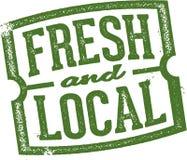 Produit frais et local Image libre de droits