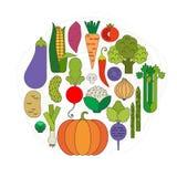 Produit-légumes frais de vegetables illustration libre de droits