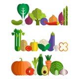 Produit-légumes frais de vegetables illustration de vecteur