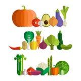 Produit-légumes frais de vegetables Photo libre de droits