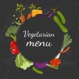 Produit-légumes frais de vegetables Concept de régime et d'aliment biologique Illustration de vecteur Photo stock