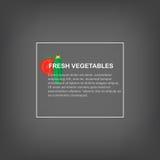Produit-légumes frais de vegetables Fond gris avec l'espace pour le texte, les concombres et les tomates Photographie stock