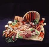Produits à base de viande fumés Image libre de droits