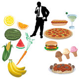 Produits alimentaires Image libre de droits