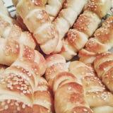 Produits alimentaires de boulangerie Photo stock