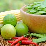 Produits biologiques frais. Photos stock
