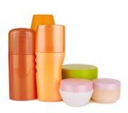 Produits cosmétiques photographie stock libre de droits
