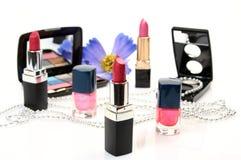 Produits de beauté décoratifs Photos stock