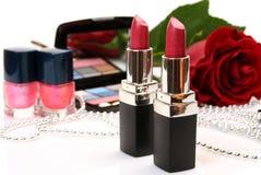 Produits de beauté décoratifs Images stock