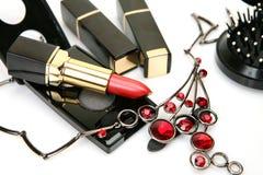 Produits de beauté décoratifs Photo stock