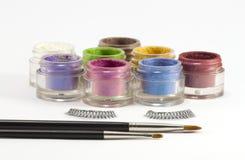 Produits de beauté de renivellement d'oeil. Images stock
