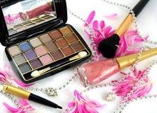 Produits de beauté femelles Photographie stock