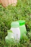Produits de beauté normaux de fines herbes Photographie stock libre de droits