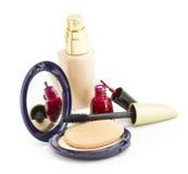 Produits de beauté pour le visage Photographie stock libre de droits