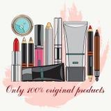 produits de beauté réglés Images stock