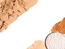 Produits de beaut? de correction de peau photographie stock