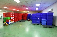 Produits de boîte en plastique photographie stock