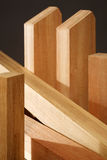 Produits de bois Photo libre de droits