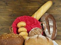 Produits de boulangerie Photos stock