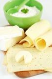 Produits de fromage Photographie stock libre de droits