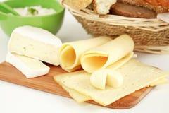 Produits de fromage Photo stock