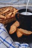Produits de lait et de boulangerie Photos stock