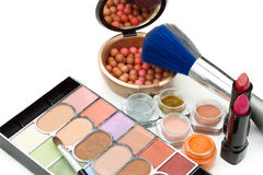 Produits de maquillage Photo stock
