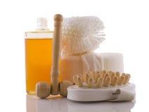 Produits de massage Photographie stock libre de droits