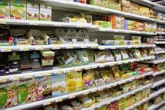 Produits de nourriture biologique Photographie stock libre de droits