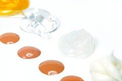 Produits de Skincare Image libre de droits