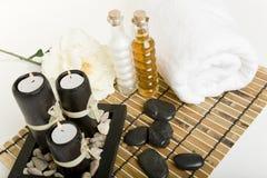 Produits de station thermale et de massage Photo libre de droits