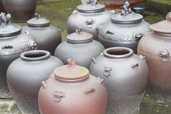 Produits en céramique Photos libres de droits