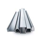 Produits métalliques roulés photographie stock libre de droits