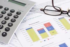 Produits par Market et finances Photo libre de droits