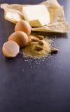 Produits pour la cuisson Images libres de droits