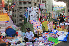 Produits pour les protestataires anti-gouvernement Photographie stock