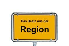 Produits régionaux Photo libre de droits