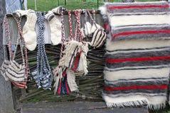 Produits traditionnels de laines Photographie stock