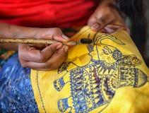 Produkcja batik canting - Zastawiony narzędzie - Tjanting Fotografia Stock