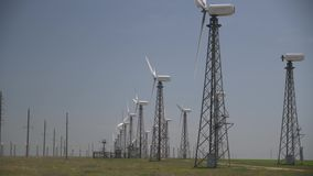 Produkcja elektryczność od odnawialnych źródeł zdjęcie wideo