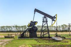 Produkcja kopalny olej w Usedom Zdjęcia Stock